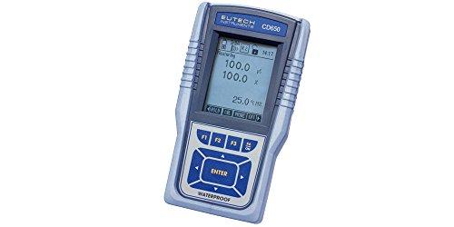 Eutech CyberScan CD 650 Meter, Water Quality Monitoring - ECCDWP65043K by Eutech Instruments