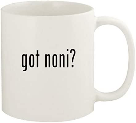 got noni? - 11oz Ceramic White Coffee Mug Cup, White
