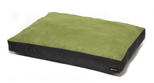 (Big Shrimpy Original Faux Suede Dog Bed, Large, Leaf by Big)