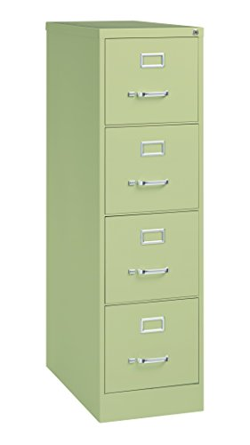 (Pro Series Four Drawer Vertical File Cabinet, Putty, 26.5 inches deep (22313))