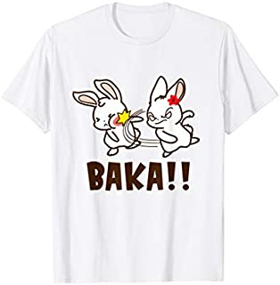 Baka Cute Japanese Word Otaku Anime Manga Lover Funny Gift T-shirt | Size S - 5XL