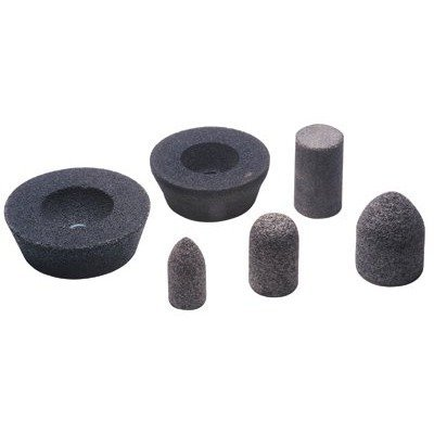 CGW Abrasives 421-49010 Aluminum Oxide Type 11 Flaring Cup Wheel, 6/4 - 3/4'', 2'', 24 Grit, 5/8-11 UNC, 6048 rpm (Pack of 5)