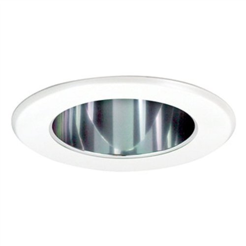 Specular Clear Cone (5 in. - Reflector Cone with Metal Ring - Specular Clear Reflector/White Ring - PLT PTS5231C)