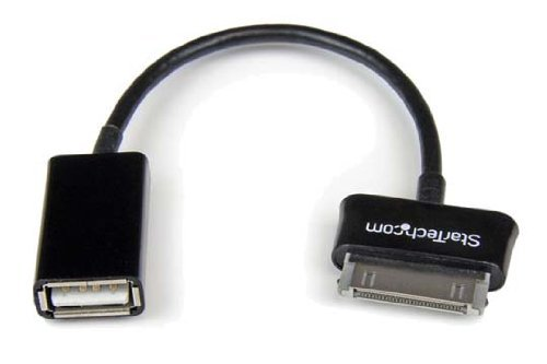 StarTech.com USB OTG Adapter Cable for Samsung Galaxy Tab - Connect USB Devices to Samsung Galaxy - Tab Otg Samsung