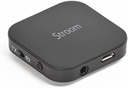 STROOM by Teknub – Wireless 2-in-1 transmitter and receiver box with CSR aptX chipset to replicate high CD-quality audio streaming