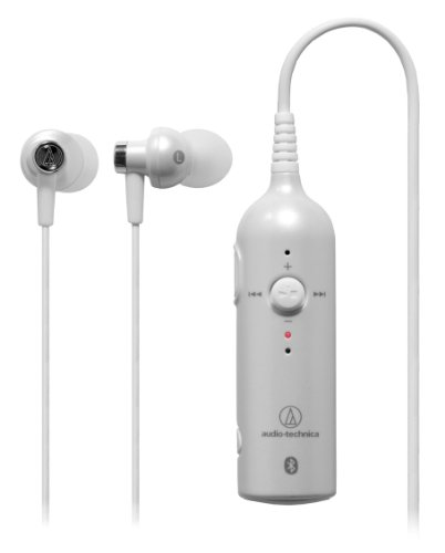 Audio Technica ATH-BT03 PWH PEARL WHITE| Wireless Stereo Headset (Japan Import) by audio-technica