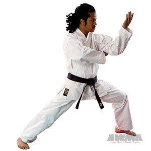 Pro Force 14oz 100% Cotton Heavy Weight Cavas Karate Gi - White - Size 4