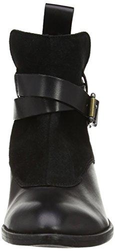 G-Star Shona Flat Cheval Strap Mix - Botas de cuero Mujer negro - Black (Black 700)