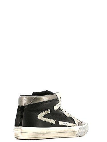 Guess - Zapatillas para hombre blanco y negro