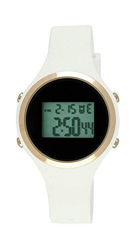 Moulin Ladies Digital Jelly Watch White #03158-76627