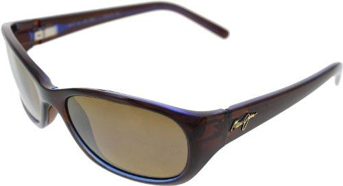 Maui Jim Sunglasses - Kuiaha Bay / Frame: Rootbeer Blue Lens: HCL - Bay Sunglasses