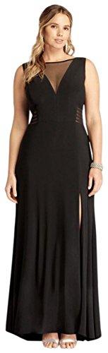 Sleeveless-Long-Jersey-Dress-with-Illusion-Neck-Style-21401W