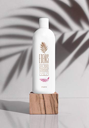 EDENIS Certified Organic Nourishing Hair Conditioner for Hydration & Restoration of Color Treated Hair   Lasting Color with All Natural Shea Moisture Conditioner & Organic Plant Extracts 16 fl ()
