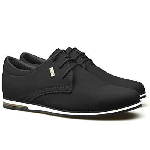À Chaussures Lacets Formelle Daim Noir Smart Pour Homme Classydude En Décontractée waqxPgP8