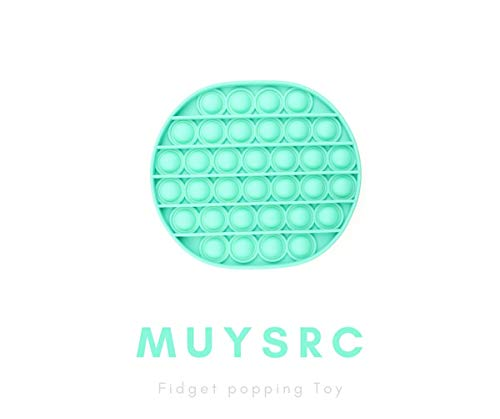 MUYSRC Fidget Toy,Popping Fidget Toy,Push It Bubble, Popping Game,Chuckle and Roar Stress Reliever,Bubble Popping(Y1-Green)