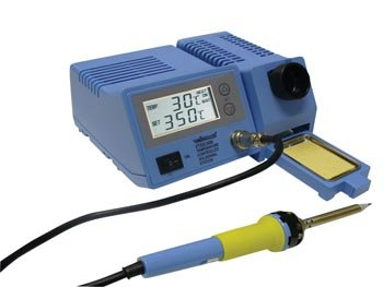 Velleman VTSSC40NU Soldering Station With Lcd & Ceramic Heater 48W 302°F - 842°F