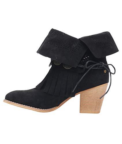 Cowboy 2945 Botines Negro Originales Krisp Moda Mujer 6aqBAE