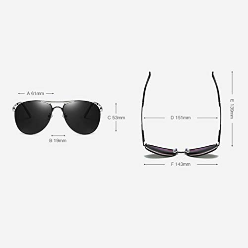 Soleil ZHAO Piece Gray Frame Black Gold Homme YING Piece Black Frame de Lunettes Zwgxtrzw