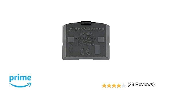 Sennheiser BA 300 - Acumulador recargable de litio para los modelos RR 4200,RI 410, SET 830,840 y 900: Sennheiser: Amazon.es: Electrónica