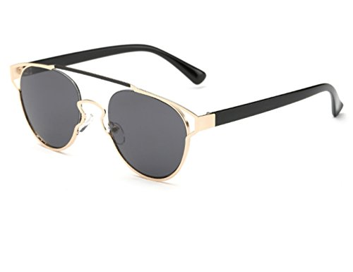 Konalla Reflective Coating Mirrored Lens Sunglasses One-Piece Frame Woman - Optical Toronto Stores