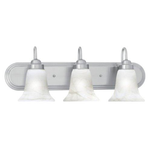 Thomas Lighting SL758378 Homestead 3-Light Lamp in Brushed Nickel vanity wall sconce Three