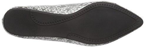Another Pair of Shoes Beatris E3 - Bailarinas para Mujer Varios Colores (Negro/Blanco 203)