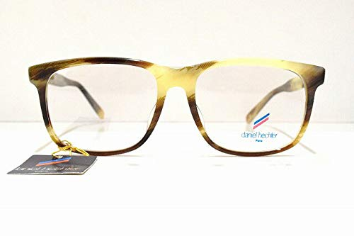 daniel hechter (ダニエルエシュテル) Y-983 メガネフレーム セルロイドめがね 眼鏡 サングラスバッファローホーン   B07K1WFT1B