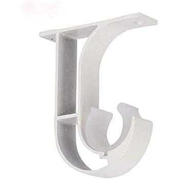 Amazon.com: Aluminum Alloy Curtain Rod Bracket,Curtain Rod