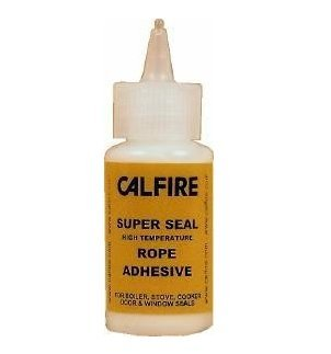 Calfire Super Seal High Temperature Stove Rope Glue Adhesive