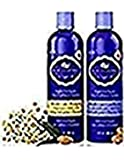 HASK Blue Chamomile & Argan Oil Blonde Care Shampoo and Conditioner (12 US FL OZ)