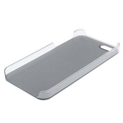 "iPhone 5S Hülle / Case / Cover in gold mit transparentem Rand aus hochwertigem Polycarbonat im ""Core-Alu-Style"" -ORIGINAL nur von THESMARTGUARD-"