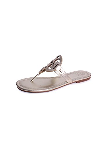 Tory Burch Miller Flip Flop Leather Thong Sandal L…