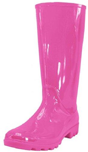 Shoes 18 Womens Classic Rain Boot Pink Rain