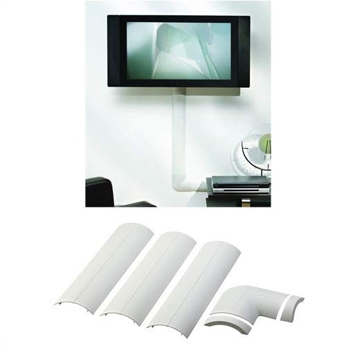 (Omnimount CMK Flat Panel Cable Wall Cover - Cable Cover - White by OmniMount)