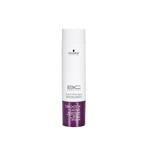 Schwarzkopf BC Bonacure Smooth Shine Conditioner for for Unmanageable Hair 200ml/6.8oz by Schwarzkopf Professional BEAUTY