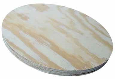 """American Wood Round Plywood For Round Table Tops 23-3/4 """" X 3/4 """""""