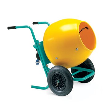 Imer Wheelbarrow Mixer Electric 5 CF.