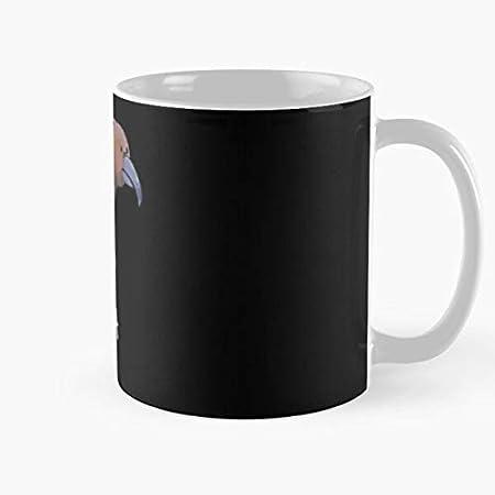 Nuevo pájaro nativo lindo zelanda kaka nz amenazado loro mejor taza de café de cerámica personalizar