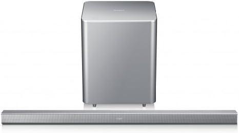 Samsung HW-F551/EN 2.1 - Altavoz para televisión con subwoofer (310 V, SoundShare, Bluetooth), color plata: Amazon.es: Electrónica