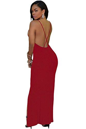 shelovesclothing - Vestido - para mujer granate