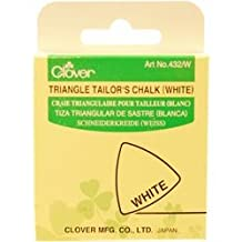 Bulk Buy: Clover Triangle Tailors Chalk White 432-W (3-Pack)