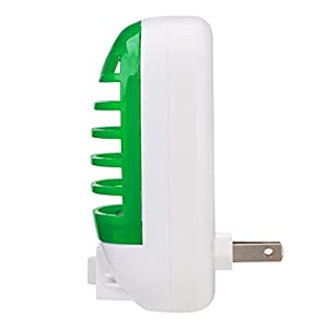 GLOUE Bug Zapper Electronic Insect Killer,Mosquito Killer Lamp,Eliminates Most Flying Pests! Night Lamp (green)