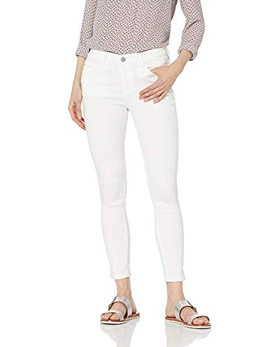 Skinnygirl Women's The Skinny Ankle in Injeanious Stretch Denim, White, 27