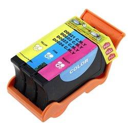 Dell Colour Inkjet - Ink Now Premium Compatible Dell Color Ink Jet Series 21 22 23 24 T094N T092N T106N T110N 330-5254 330-5256 330-5888 for V313 V313W V515W V715W P513W P713WColor High Yield Printers yld