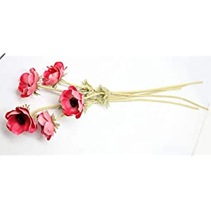 En Ge Rose Anemone Flowers with Long Stems Artificial Flower for Home Decor DIY Wedding Bouquet 4