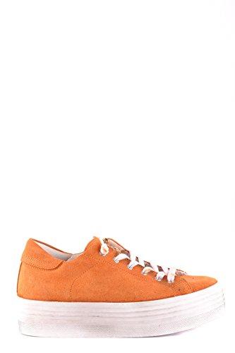 Jijil Mujer MCBI16400002O Naranja Gamuza Zapatillas