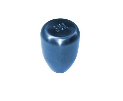 Blox Racing BXAC-00206 Torch Blue 12 x 1.25mm Thread Size Billet Original 5-Speed Shift Knob
