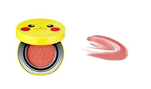 Tony Moly Pokemon pikachu mini coussin rouge (9g) (rose de corail) 3180644