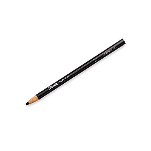 Sharpie 2173PP Peel-Off China Markers, Black, 2-Count by Sharpie (Image #1)