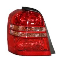TYC 11-5932-00 Toyota Highlander Driver Side Replacement Tail Light Assembly